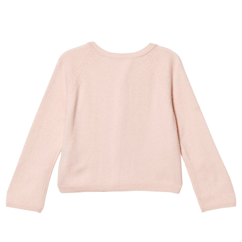 DOLLY by Le Petit Tom ® PEARLED UP CARDIGAN Cashmere lightpink - DOLLY by Le Petit Tom ®