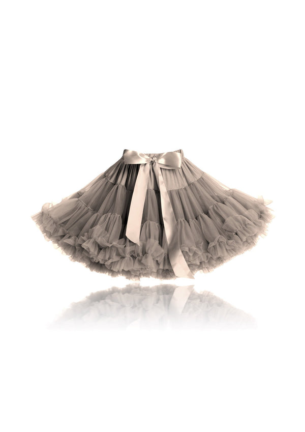 DOLLY by Le Petit Tom ® LITTLE MERMAID pettiskirt taupe - DOLLY by Le Petit Tom ®