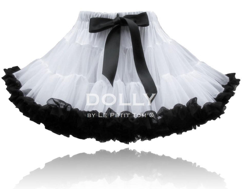 DOLLY by Le Petit Tom ® COCO CHANEL pettiskirt White Black - DOLLY by Le Petit Tom ®