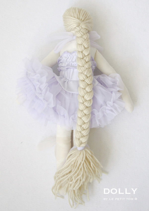 DOLLY by Le Petit Tom ® RAPUNZEL DOLL lavender - DOLLY by Le Petit Tom ®
