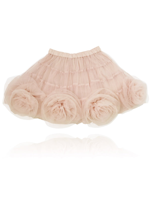 DOLLY by Le Petit Tom ® Rosette Tutu Skirt ballet pink - DOLLY by Le Petit Tom ®