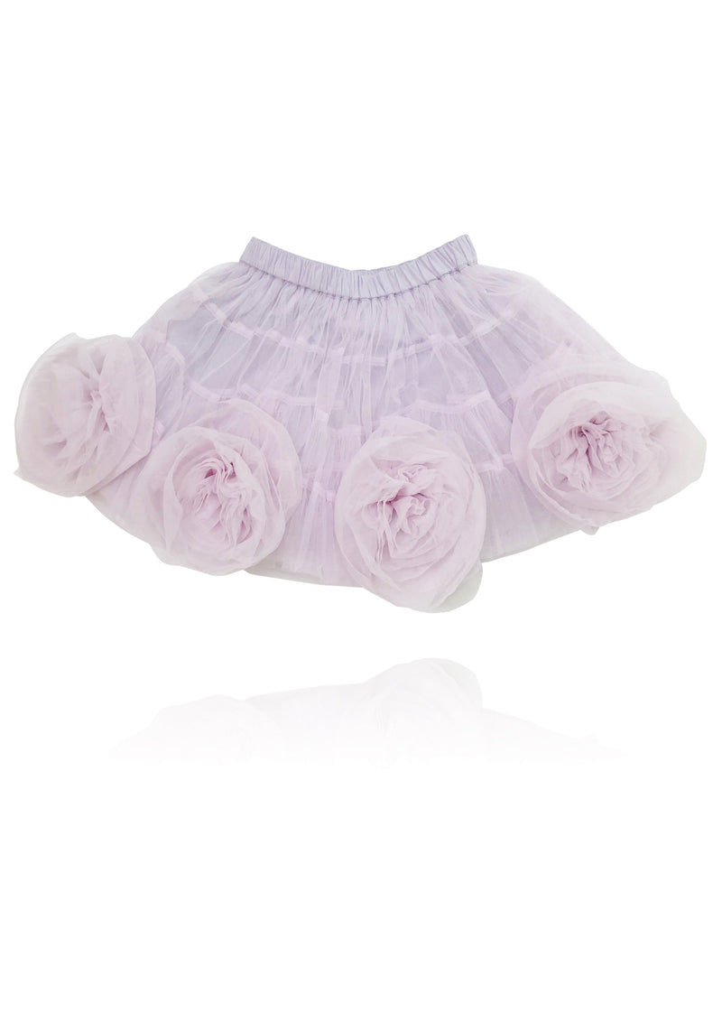 DOLLY by Le Petit Tom ® Rosette Tutu Skirt violet - DOLLY by Le Petit Tom ®