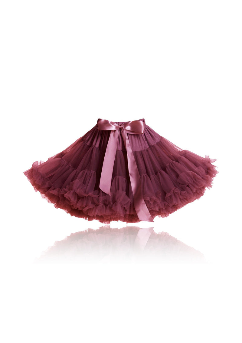 DOLLY by Le Petit Tom ® RED QUEEN pettiskirt ruby - DOLLY by Le Petit Tom ®