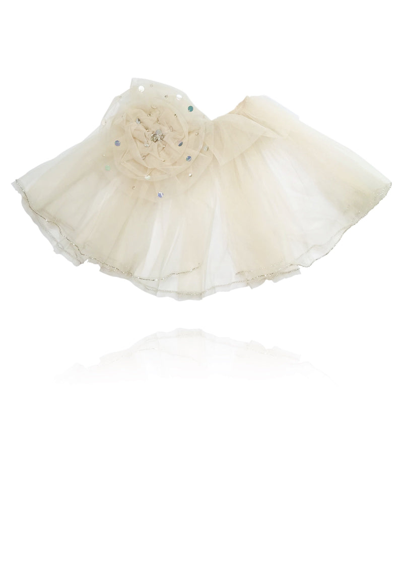 DOLLY by Le Petit Tom ® True Ballerina cape coffee - DOLLY by Le Petit Tom ®