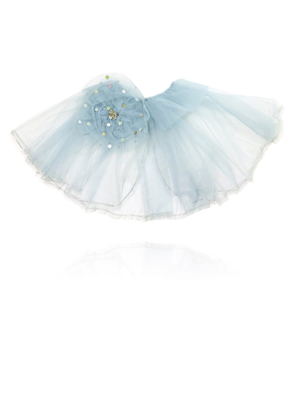 DOLLY by Le Petit Tom ® True Ballerina cape light blue - DOLLY by Le Petit Tom ®