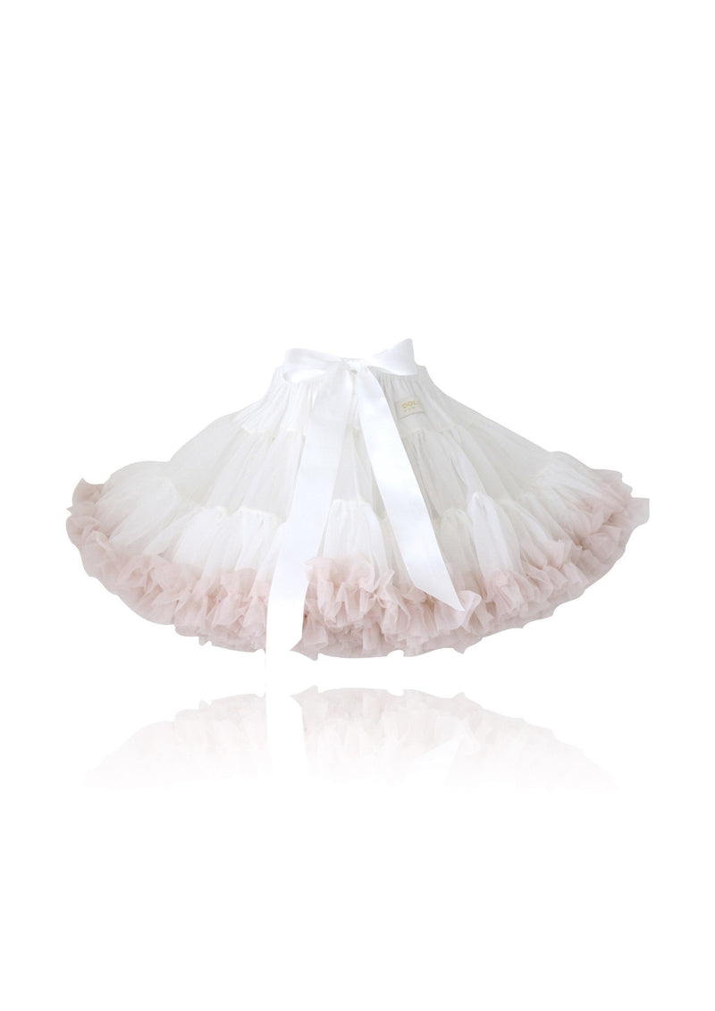 DOLLY by Le Petit Tom ® SWEET QUEEN pettiskirt off-white ballet pink - DOLLY by Le Petit Tom ®