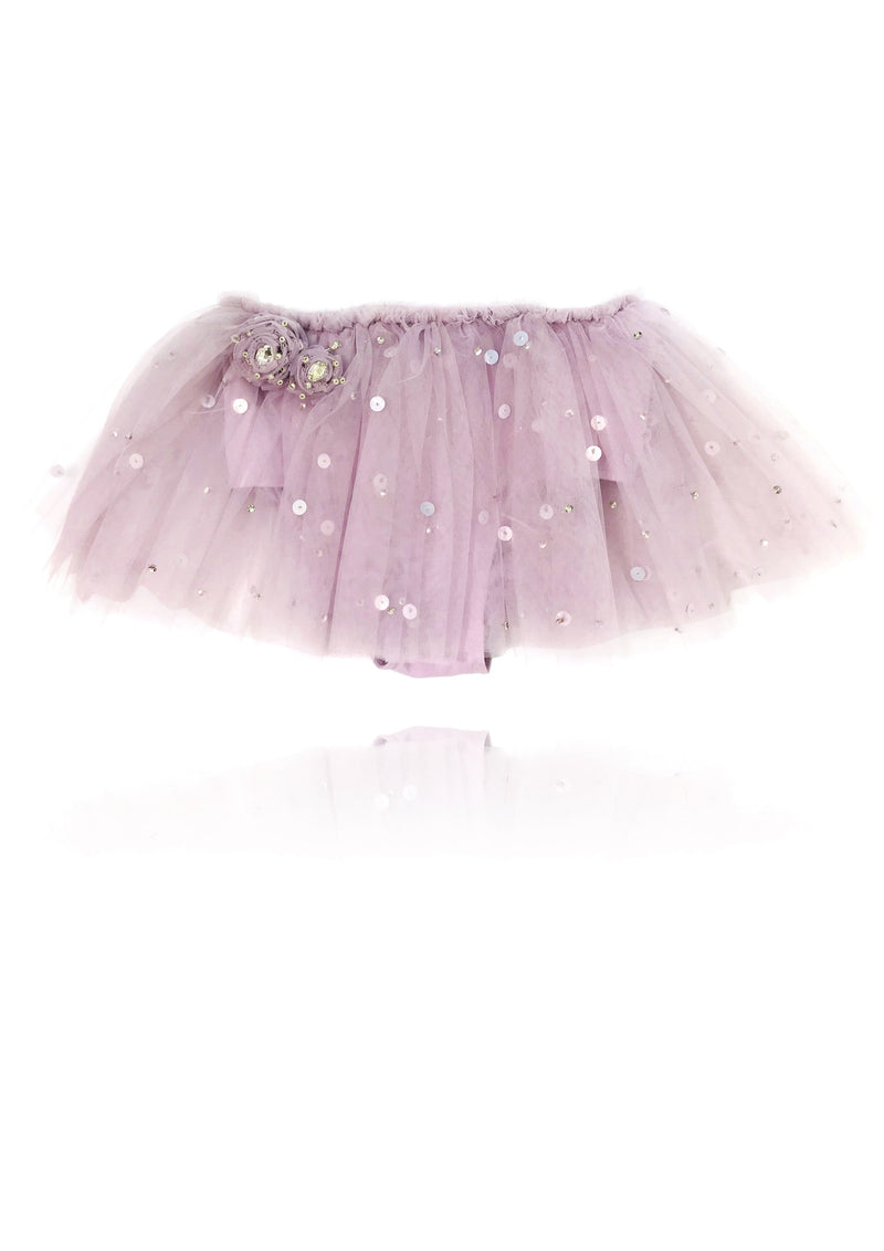 DOLLY by Le Petit Tom ® True Ballerina tutu bloomer violet - DOLLY by Le Petit Tom ®