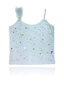DOLLY by Le Petit Tom ® True Ballerina top light blue - DOLLY by Le Petit Tom ®