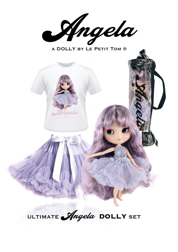 [ OUTLET] ANGELA DOLLY by Le Petit Tom ® T-shirt Angela doll lavender