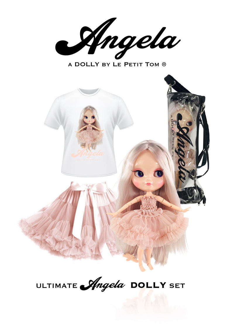 ANGELA DOLLY by Le Petit Tom ® T-shirt Angela doll ballet pink