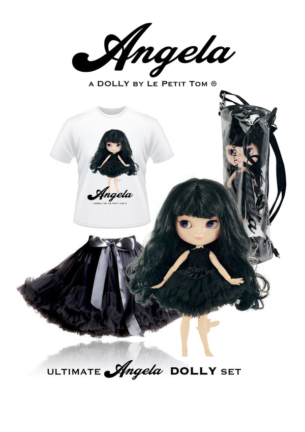ANGELA DOLLY by Le Petit Tom ® T-shirt Angela doll black