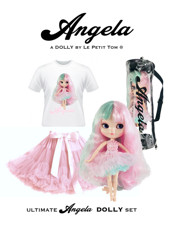 ANGELA DOLLY by Le Petit Tom ® T-shirt Angela doll unicorn