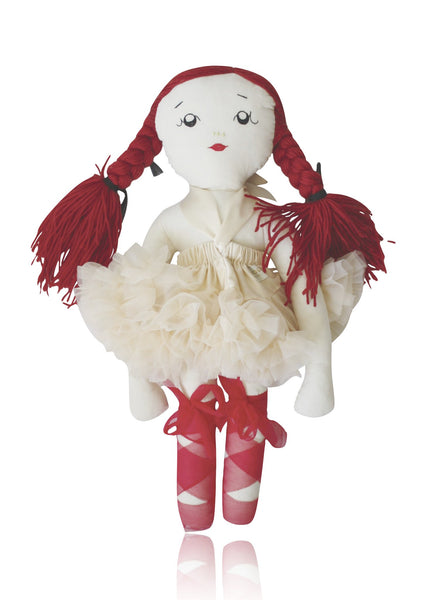 DOLLY by Le Petit Tom ® VICKY DOLL 50cm cream - DOLLY by Le Petit Tom ®