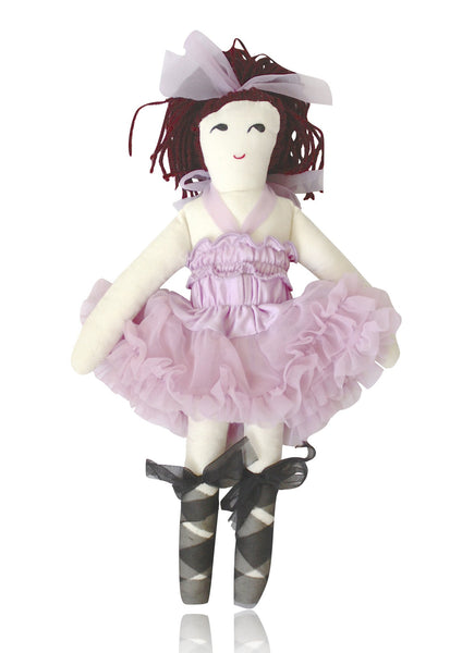 DOLLY by Le Petit Tom ® VIOLET DOLL (with ponytail) violet - DOLLY by Le Petit Tom ®