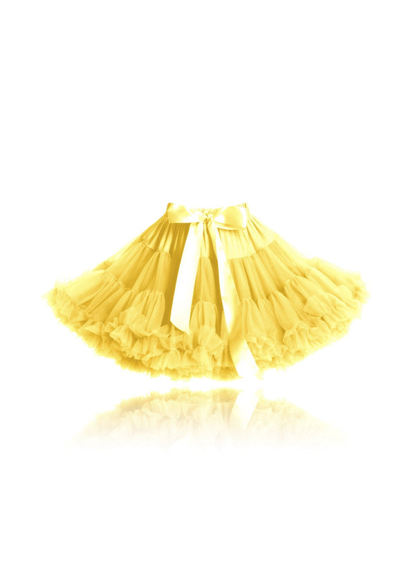 DOLLY by Le Petit Tom ® RUMPELSTILTSKIN pettiskirt gold yellow - DOLLY by Le Petit Tom ®