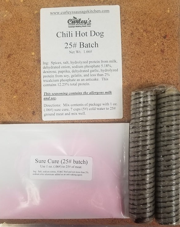 Chili Hot Dog KIT