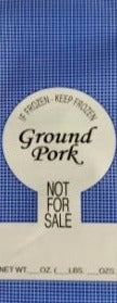 Ground Pork Bags