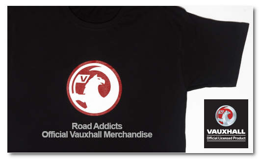 Official Vauxhall Merchandise at Road Addicts UK