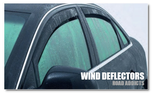 Wind Deflectors by Road Addicts Car Accessories UK