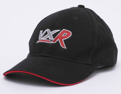 Black Baseball Cap with VXR logo