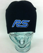 Load image into Gallery viewer, Genuine Ford RS Beanie Hat in Black