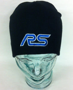 Genuine Ford RS Beanie Hat in Black