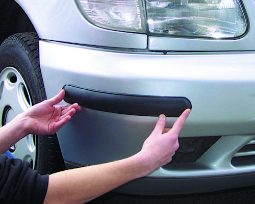 Black Bumper Protectors for Cars