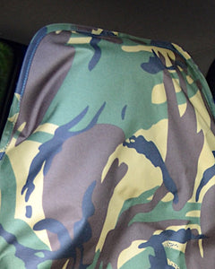 Green Camo Quick Fit Slip-Over Waterproof Seat Cover