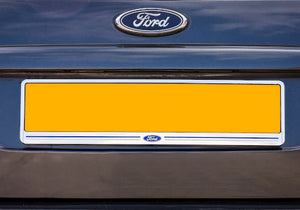 Ford Chrome Rear Number Plate Surround