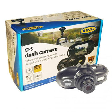 Car Dash Camera Kit with Full HD, GPS and Night Vision
