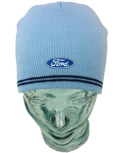 Load image into Gallery viewer, Ford Beanie Hat in Light Blue