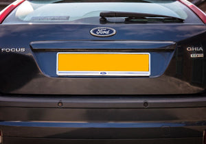 Rear Chrome Number Plate Surround