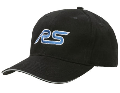 Black Baseball Cap with Ford RS logo