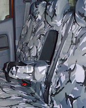 Load image into Gallery viewer, Full Tailored Rear Camo Seat Covers - Ford Ranger