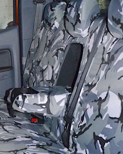 Tailored Armrest Cover for Ford Ranger Widltrak Double Cab