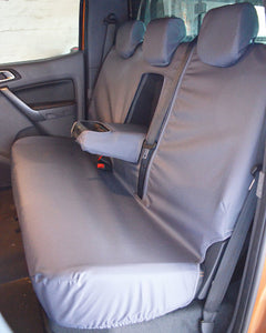 Grey Tailored Rear Seat Cover - Ford Ranger T6