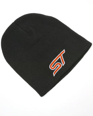Black Beanie Hat with Ford ST logo