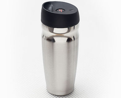 Stainless Steel Travel Mug with Ford ST logo