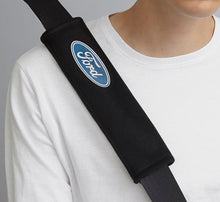 Load image into Gallery viewer, Seat Belt Pad with Ford logo