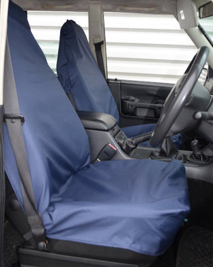 Dark Blue Front Waterproof Seat Covers