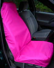 Load image into Gallery viewer, Pink Car Seat Covers - Bright Neon