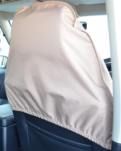 Back of Quick Slip-Over Headrest Seat Cover