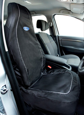 Waterproof Front Seat Cover with Ford logo