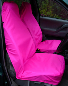 Bright Neon Pink Seat Covers