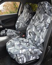 Load image into Gallery viewer, Fiat 500 Camo Seat Covers - Grey