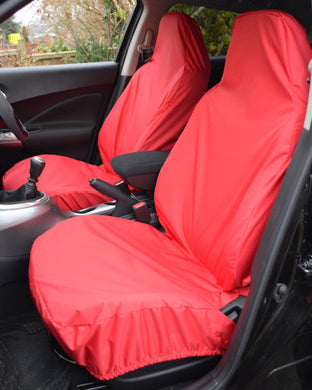 Ford EcoSport Red Seat Covers