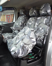 Load image into Gallery viewer, Nissan NV300 Camouflage Front Seat Covers