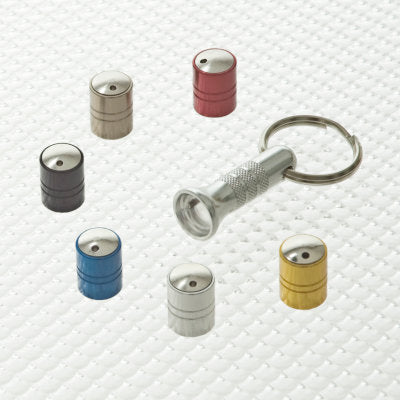 Locking Tyre Valve Dust Cap Range