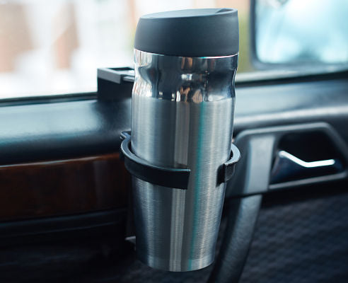 Travel Mug with In-Car Cup Holder and Ford logo