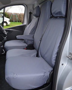 Renault Trafic Grey Tailored Waterproof Seat Covers
